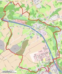 Wandelroute 15,6km
